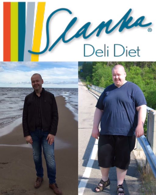 slanka diet resultat