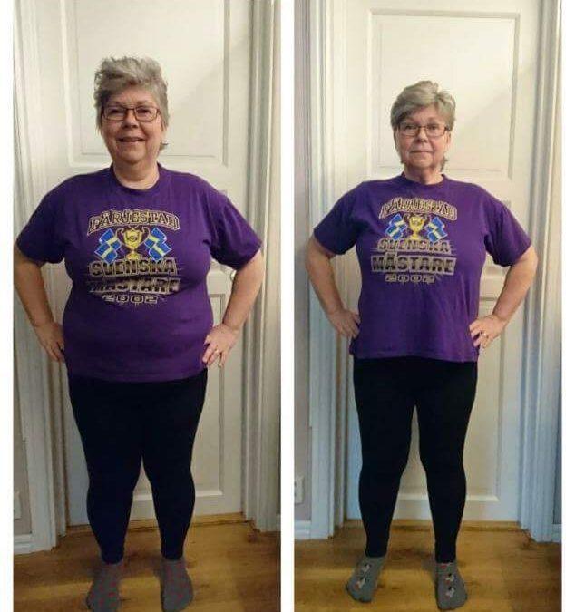 3 veckor Slanka Maxi är avklarade: -12,7 kilo