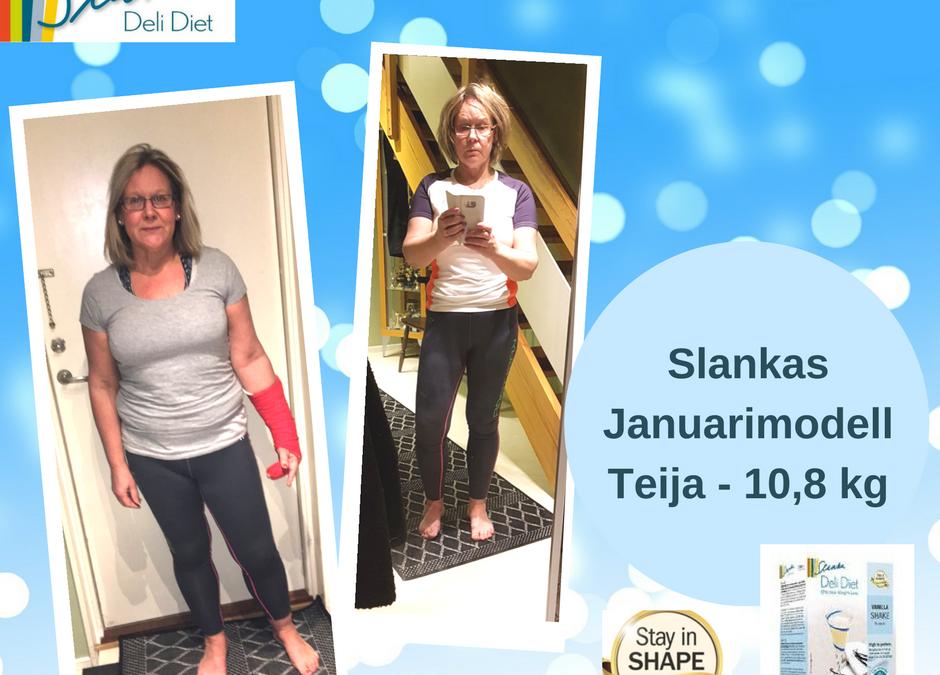 3 veckors Slanka Maxi – resultatet