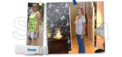 Inspireras av Jennys viktresa med Slanka från 90 kg till 65 kg