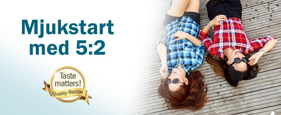 Mjukstarta med Slanka 5:2 – hitta en ny lättare livsstil!