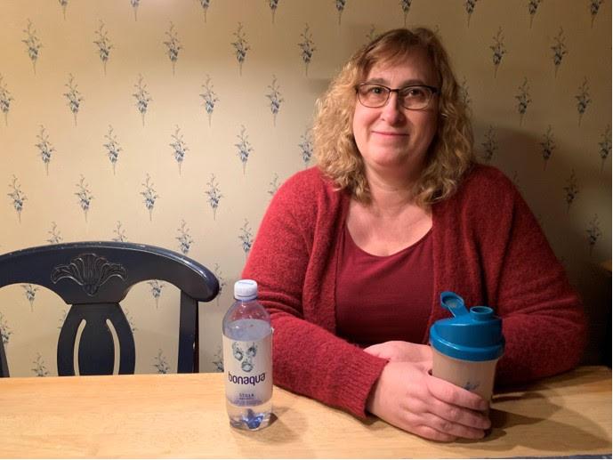 Anette: det känns tydligt att jag gått ner i vikt med Slanka