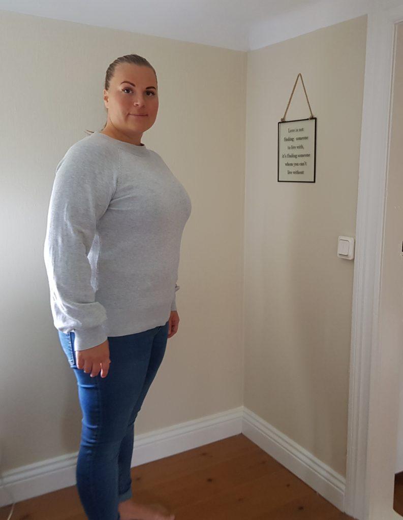 Jag har klarat mitt andra delmål med Slanka, att gå ner över -10 kg