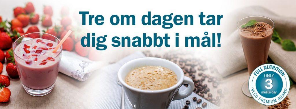 Svensk pulverdieten som smakar gott! Slanka Deli Diet