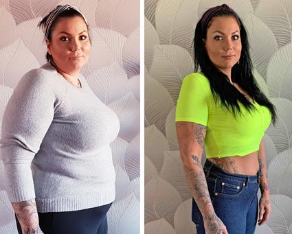 Helenas fantastiska viktresa -32 kg med Slanka