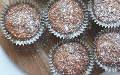 Pepparkaksmuffins utan socker och mjöl!