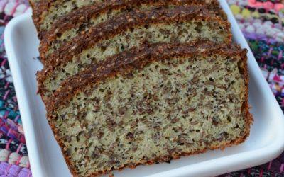 Baka gott mjöl- och sockerfritt bröd av Slanka Havremål